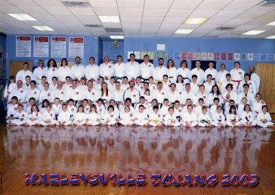 2003 - Dojang Photo